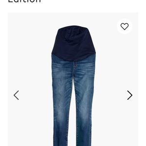 Madewell Over the Belly Skinny Maternity Jeans